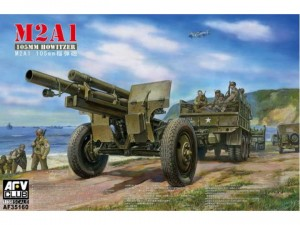 AFV Club 35160 - 105mm Haupitsi-M2A1