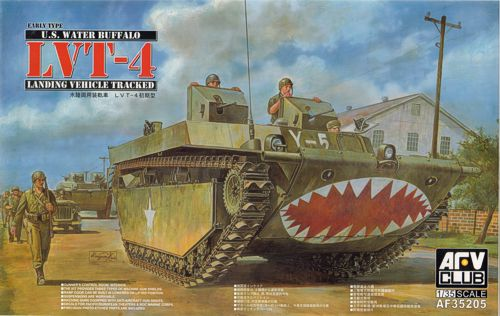 AFV Club 35205 - AMERIKAANSE Water Buffalo LVT-4