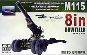 AFV Club 35S06 - M115 8in гаубица