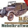 AFV Club 35S36 - Sd.Kfz.11/4 Nebelkraftwagen