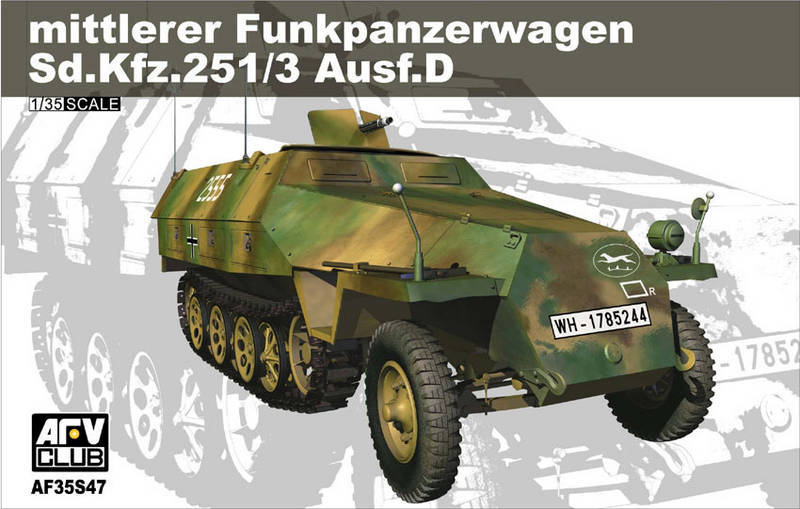 装甲战车俱乐部35S47-Sd。Kfz.251/3型坦克。D