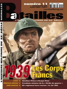 Les corps frankov 1939 - Batailles 11
