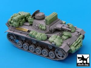 Pz.Kpfw.III Ausf.N Accessories Set – BLACKDOG 35030