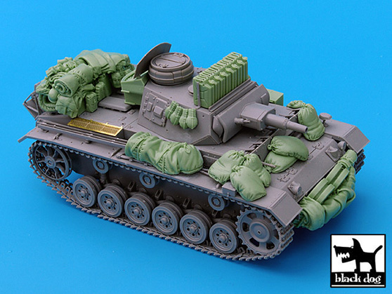 Pz.Kpfw.III Ausf.N Accessories Set – BLACKDOG 35030