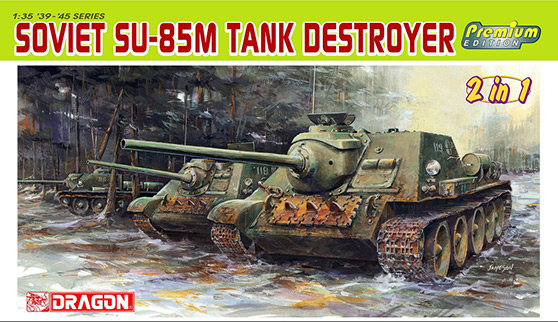 Sovjetiske SU-185M Tank Destroyer – DRAGON 6415