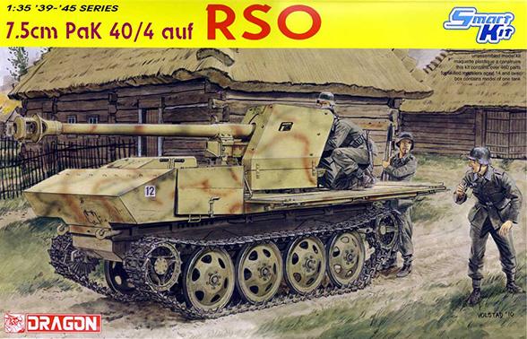 7,5 cm PaK 40/4 RSO – DRAGON 6640