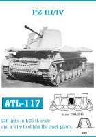Tracks for PZ III / IV in use 1943-45  - Friulmodel ATL-117