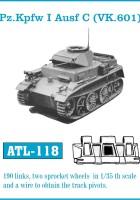 Tracce for Carri armati I Ausf C - Friulmodel ATL 118