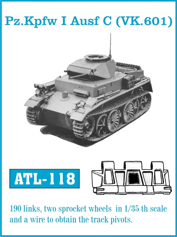 Trate pre Panzer som Ausf C - Friulmodel ATL-118