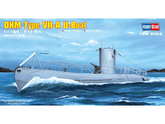 DKM Navy Type VII-A U-Boot - HOBBY BOSS 83503