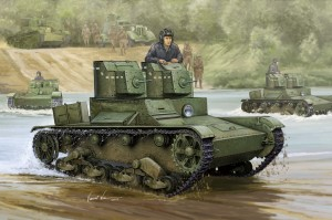 De Sovjet T-26 Lichte Infanterie Tank Mod.1931 - HOBBY BOSS 82494