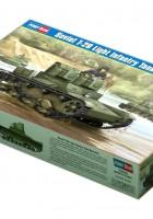ソビエトT-26軽歩兵戦車Mod.1931年-ホビーボス82494
