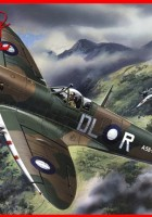 Spitfire Mk. VIII - WWII British Fighter - ICM 48067