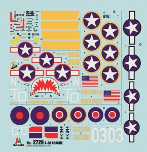 A-36 Apache-ITALERI 2729