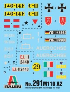 Maketa - M110A2 - ITALERI 291