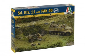 Sd. Kfz.11 with PAK 40 - ITALERI 7065