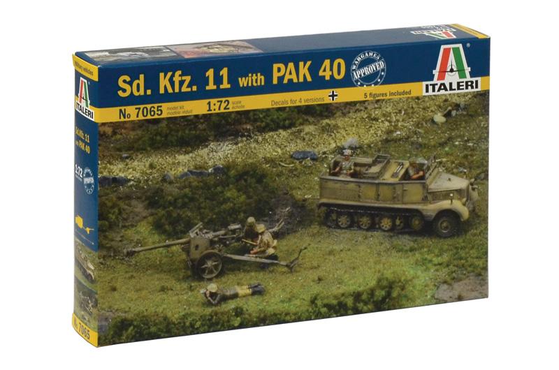Sd. Kfz.11 med PAK 40 - ITALERI 7065