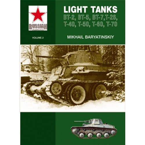 Light Tanks T-27, T-38, BT, T-26, T-40, T-50, T-60, T-70 - Mikhail Beryatinskiy