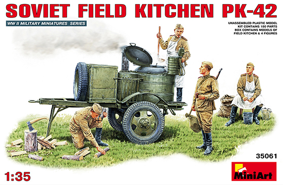 Soviet Field Kitchen PK-42 - MiniArt 35061