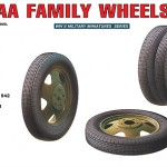 GAZ-AA Family Wheels Set – MiniArt 35099