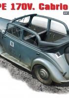 MB TIP 170V Cabrio Salon - MiniArt 35103