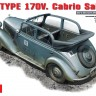 MB TYPE 170V Cabrio Salon - MiniArt 35103