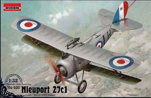 Nieuport 27c1 - Roden 630