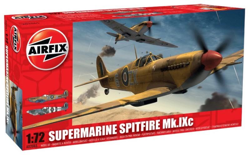SupermarineスピットファイアMKIXc-Airfix A02065