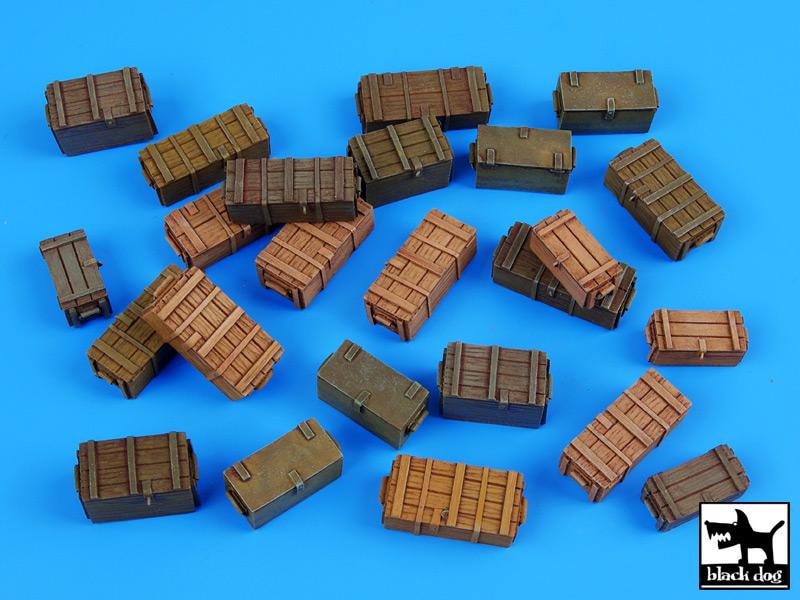 Универсальные боеприпасы коробки аксессуары набор - черная собака 35040