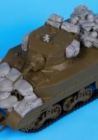 M5A1 tilbehør set - Svart Hund T35056