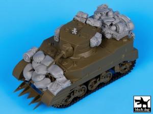 M5A1 conjunto de accesorios - Perro Negro T35056