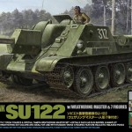 Ruski Tank Destroyer SU-122 - TAMIYA 25111