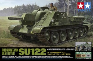 Russo Tank Destroyer SU-122 - TAMIYA 25111