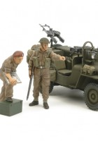Tamiya 25152 - Britské Komando SAS Vozidla 1944