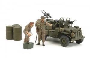 Tamiya 25152 - Британская SAS Commando 1944 Vehicle