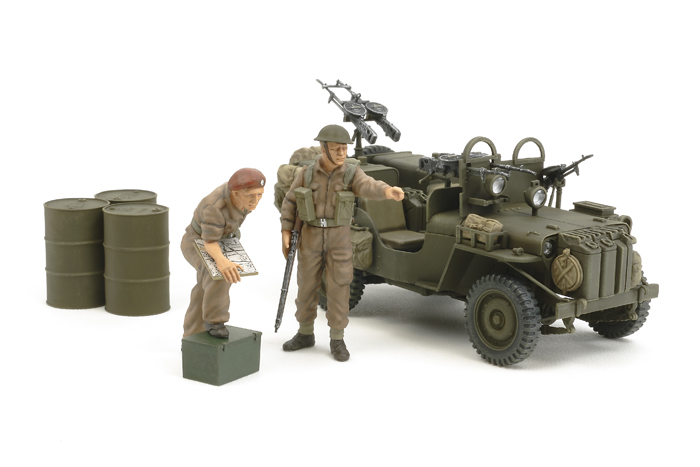 Tamiya 25152 - British SAS Commando Όχημα 1944