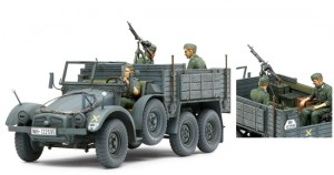 6X4 Veoauto Krupp Protze (Kfz.70) Personali Vedaja, TAMIYA 35317
