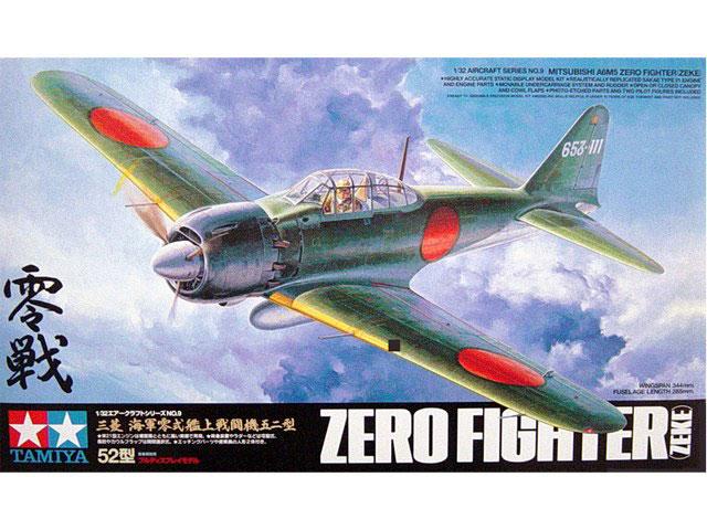 Tamiya 60309 - Mitsubishi A6M5 Model 52 Nul