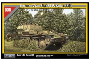TRISTAR 35035 - 2cm Flak38 PzKpfw 38(t)