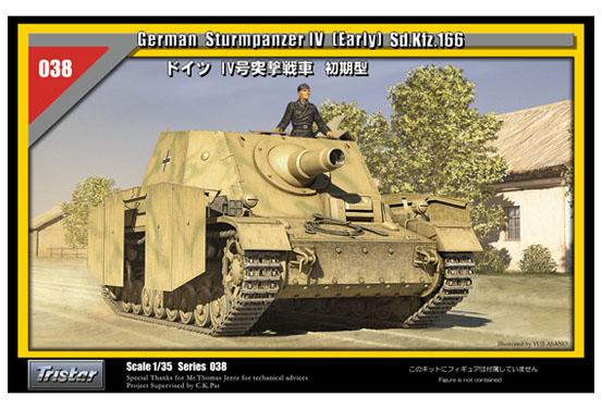 TRISTAR 35038 - nemecký Sturmpanzer IV