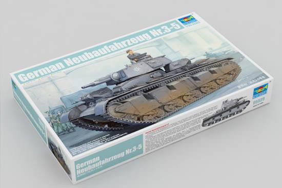 德国Neubaufahrzeug第3-5-小号手05529