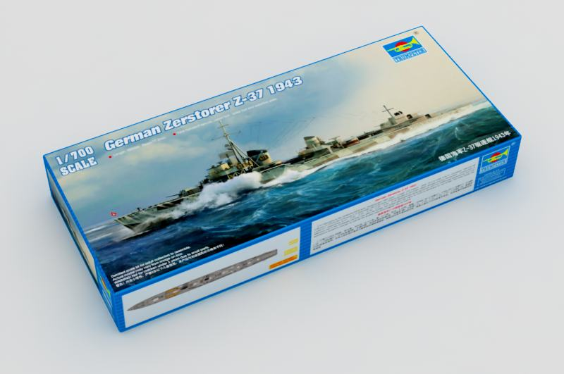 Trompettist 05791 - Destroyers Z-37
