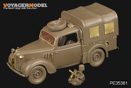 WWII British light utility car 10H – VOYAGER PE35381